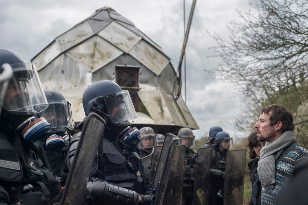 Evictions in ZAD de Notre Dames de Landes, March 2018